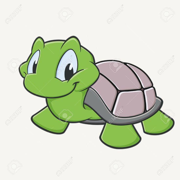 736x736 Free Clip Art Cartoon Turtle