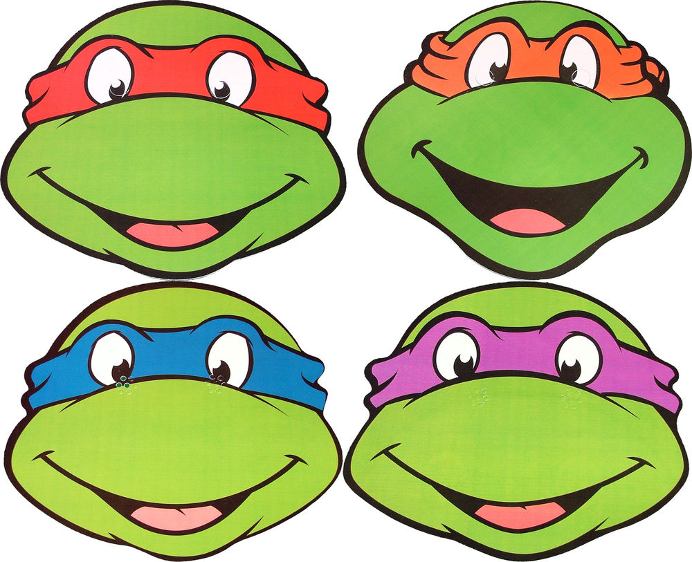1000x813 Ninja Turtle Clip Art