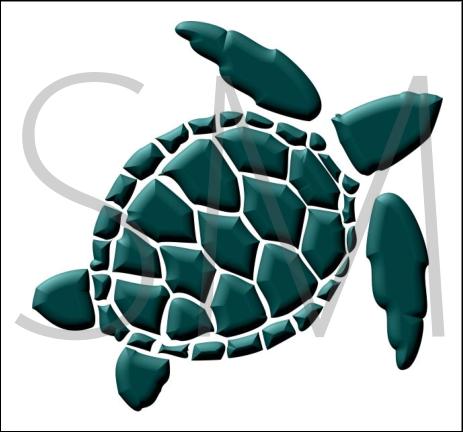 463x432 Sea Turtle Clip Art