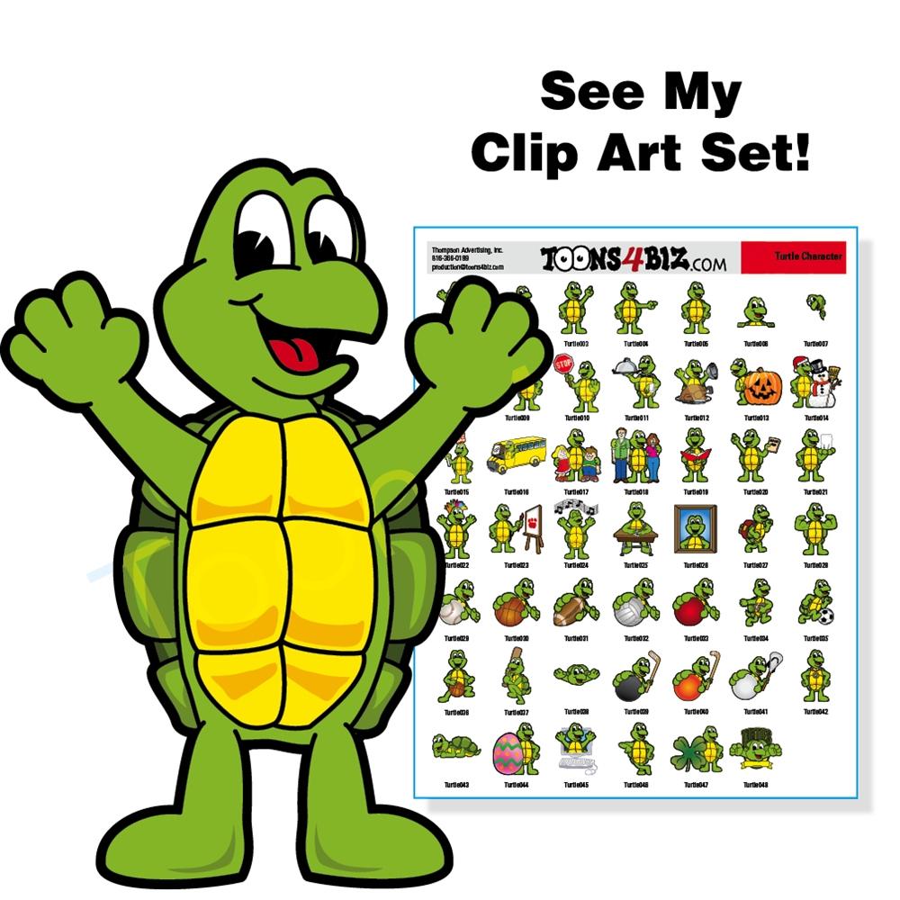 1000x1000 Turtle Clipart Detective