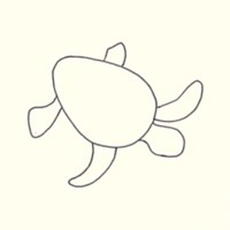 735x735 Drawn Turtle Face