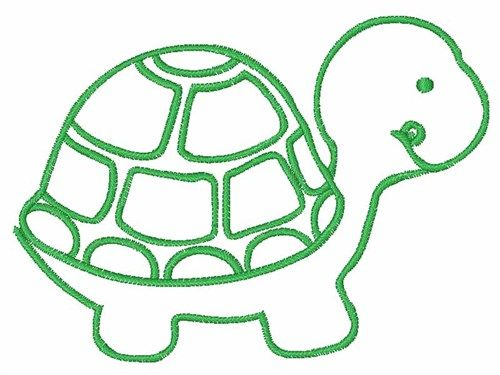 500x375 The Best Turtle Outline Ideas Turtle Pattern