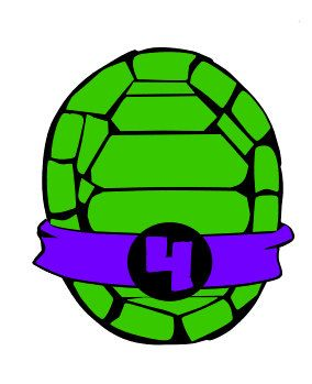 284x349 Turtle Shell Clipart Svg