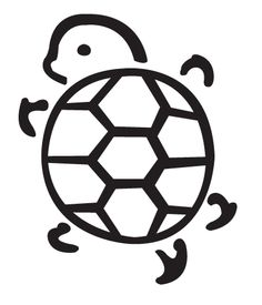 236x275 Hawaiian Turtle Outline Clipart Panda