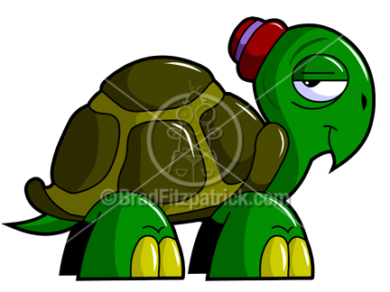 432x324 Cartoon Turtle Clipart Character Royalty Free Turtle Picture