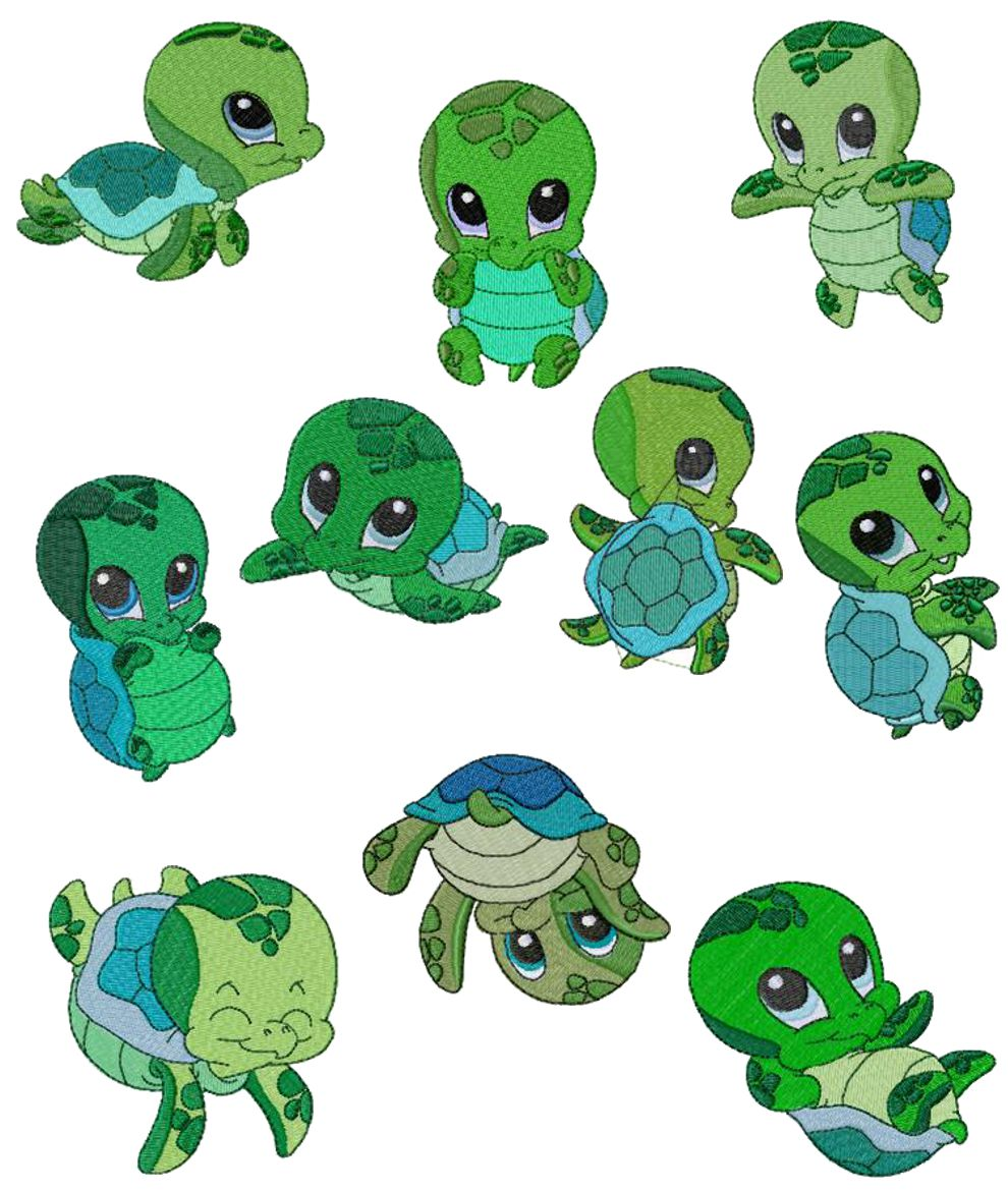 990x1170 Cartoon Sea Turtle Clip Art Library