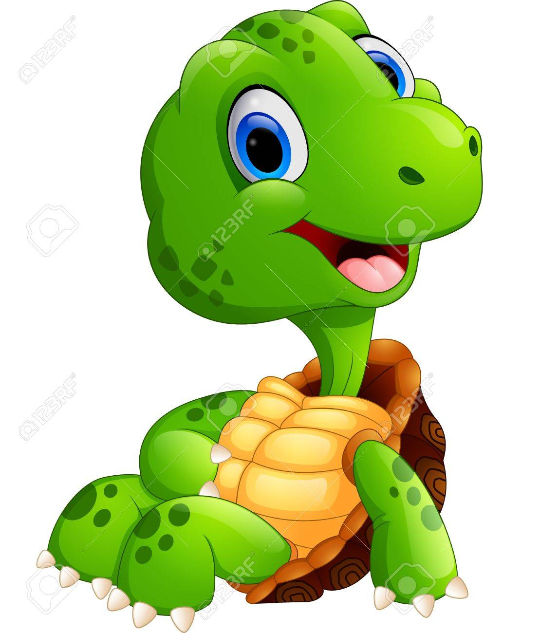1109x1300 Cute Turtle Cartoon Posing Royalty Free Cliparts, Vectors,