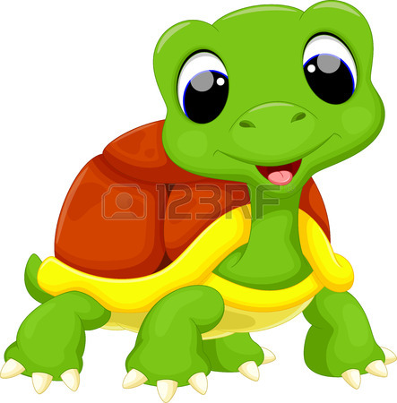 443x450 Cute Turtle Cartoon Royalty Free Cliparts, Vectors, And Stock