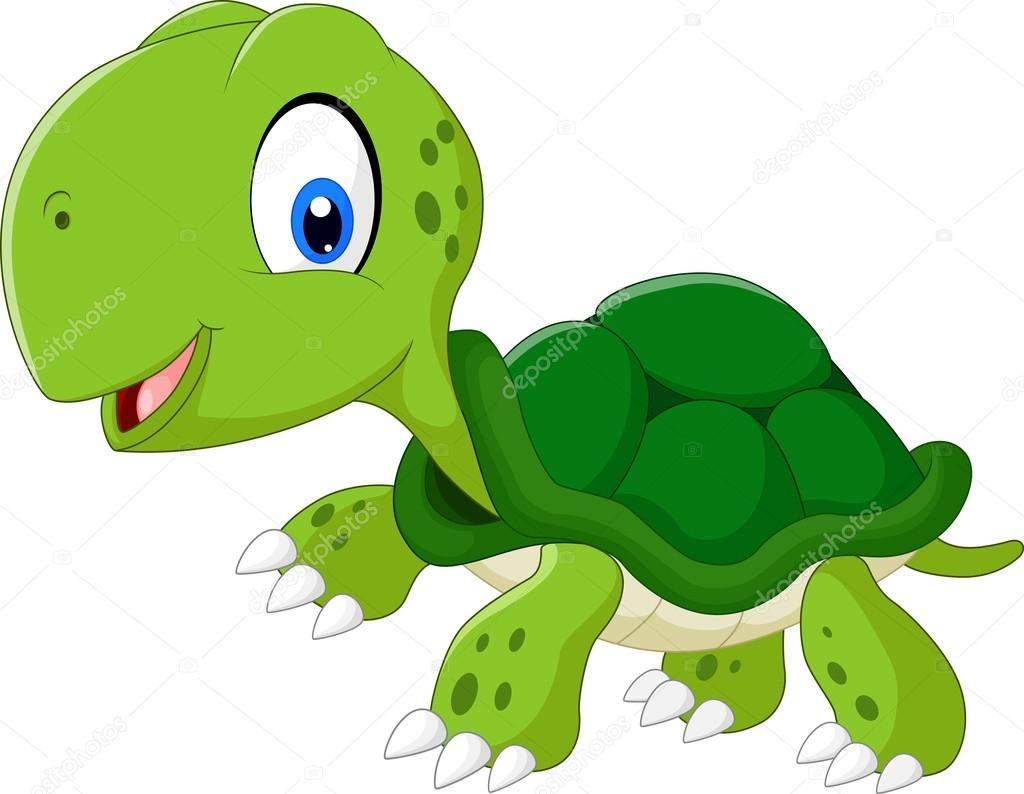 1024x794 Happy Sea Turtle Cartoon Stock Vector Dreamcreation01