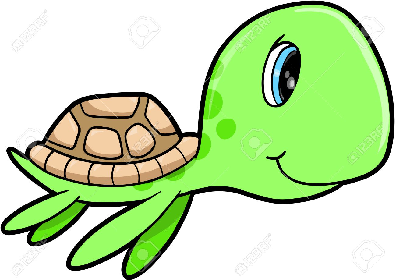 1300x919 Sea Turtle Clipart Cute Summer