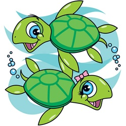 249x250 Cartoon Sea Turtle Clipart