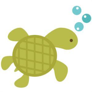 Turtle Silhouette Clipart