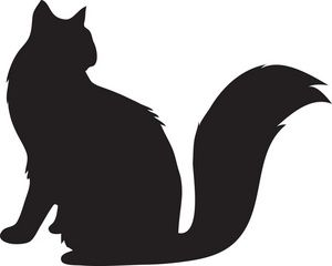 300x240 Best 25+ Cat clipart ideas Best squirrel image