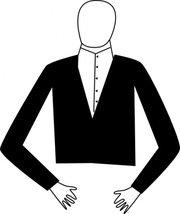 180x214 Tuxedo Clip Art, Vector Tuxedo