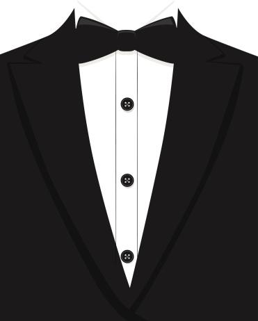 371x462 Tuxedo Clipart