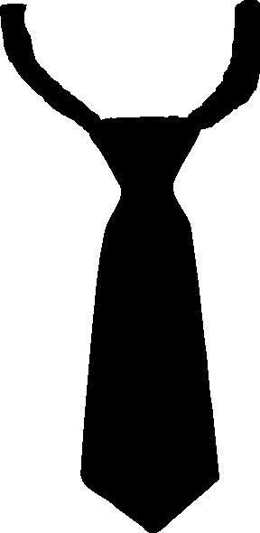 288x590 Black Tie Clipart