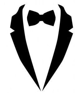 257x300 Bow Tie Clipart Tuxedo