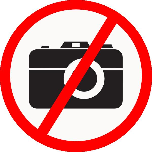 600x600 No Camera Allowed Clip Art