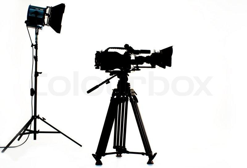 800x544 Tv The Camera In Studio Stock Photo Colourbox
