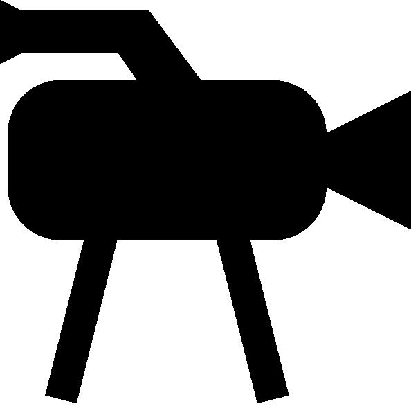 594x599 Tv Camera Icon Clip Art