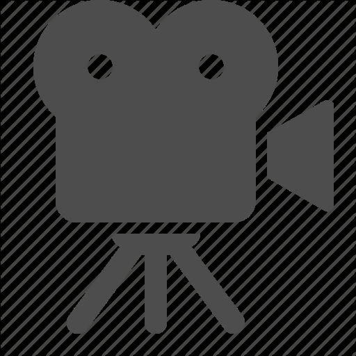 512x512 Camera, Film, Movie, Recording, Television, Tv, Video Icon Icon