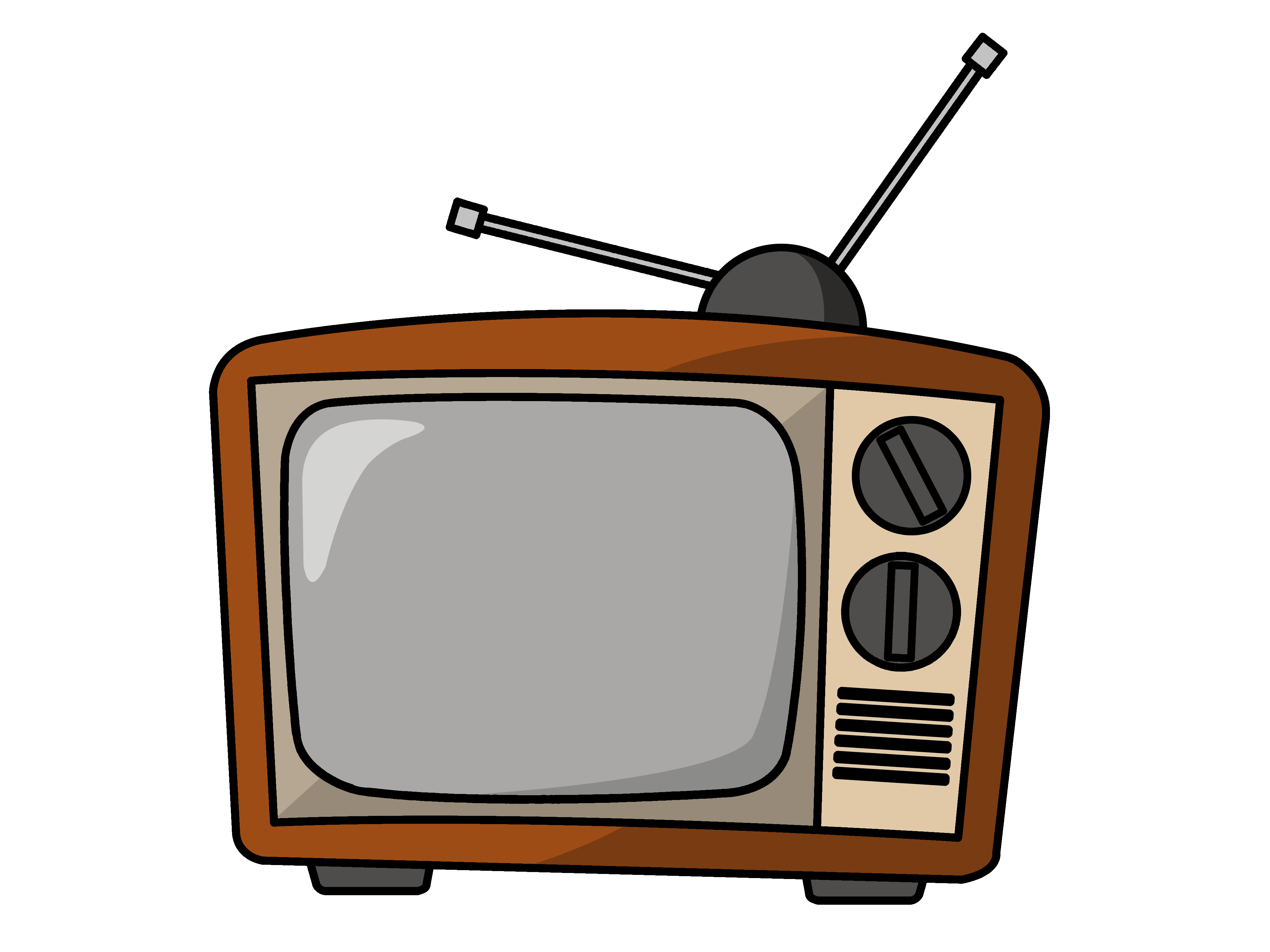 4000x3000 Screen Clipart Tv Time