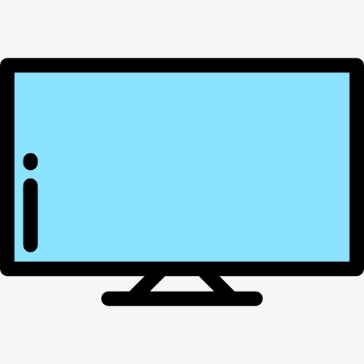 512x512 Tv, Monitor, Cartoon Png And Psd File For Free Download