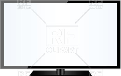 Tv modern. Screen clipart free download
