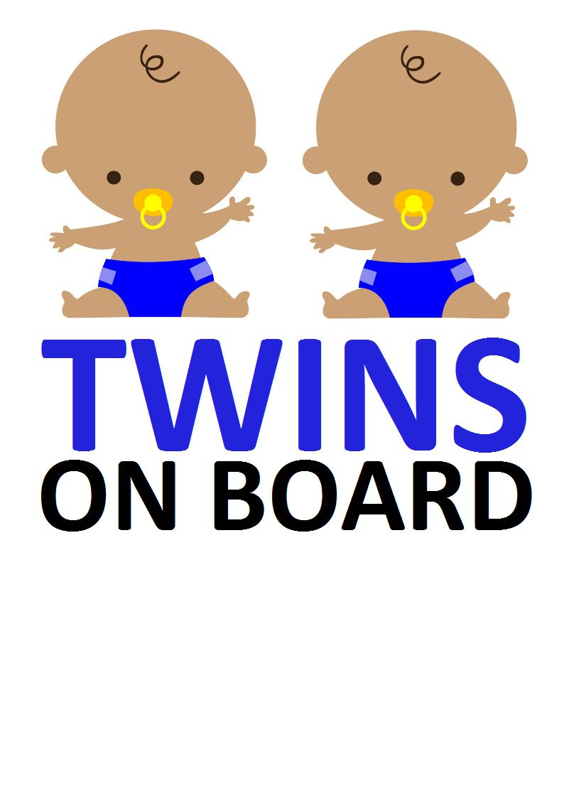 794x1123 Twins Clipart Twin Boys