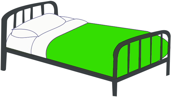 600x341 Free Twin Bed Clipart 1 Page Of Public Domain Clip Art Image