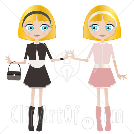 450x450 Two Sisters Clipart