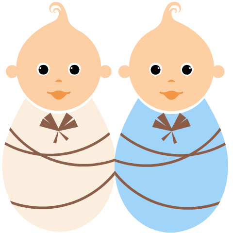 480x480 Baby Clipart Free Twin