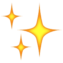256x256 Sparkles Clipart Twinkle