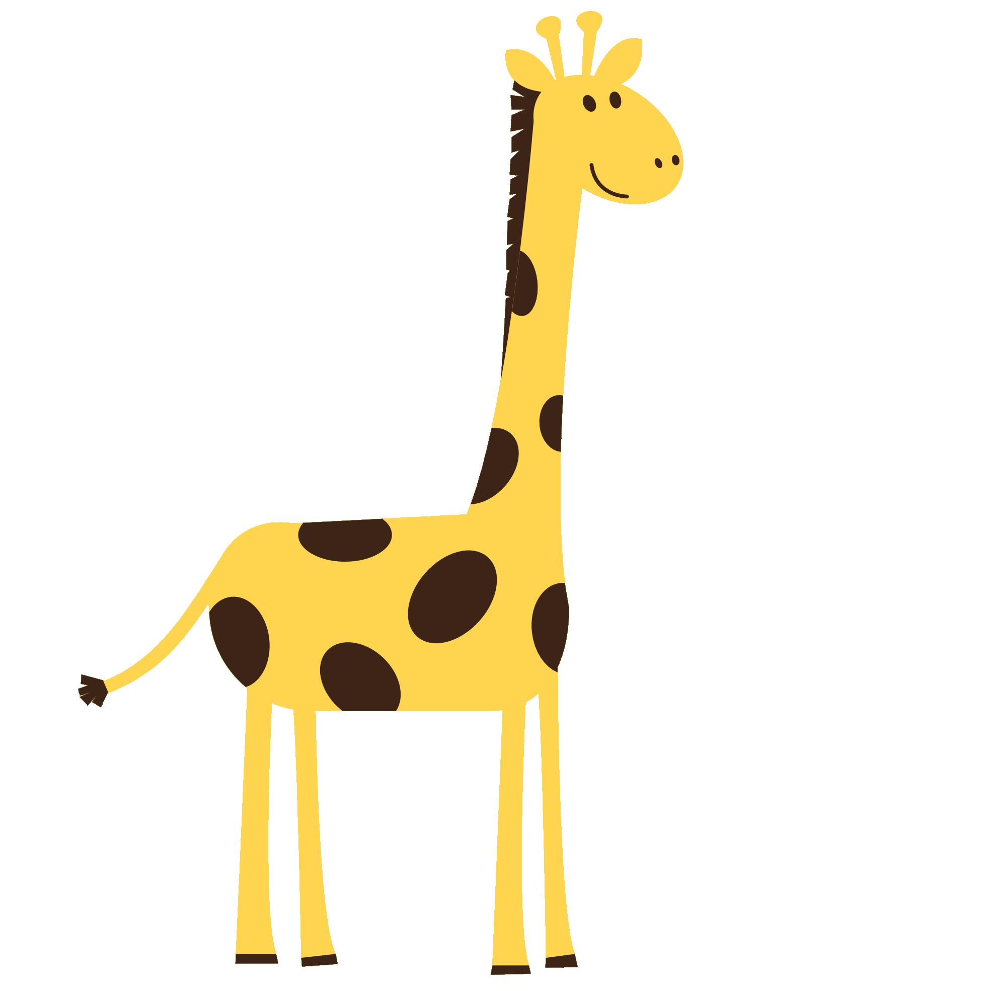 1969x1969 Clip Art Colorful Animal Giraffe Vfx Solidarity