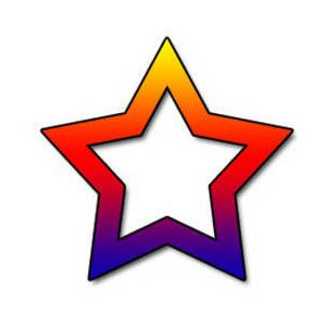 300x300 53 Best Stars Images Pictures, Clip Art And Cutting