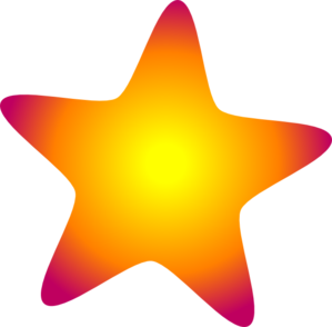 299x294 Glowing Star Clip Art