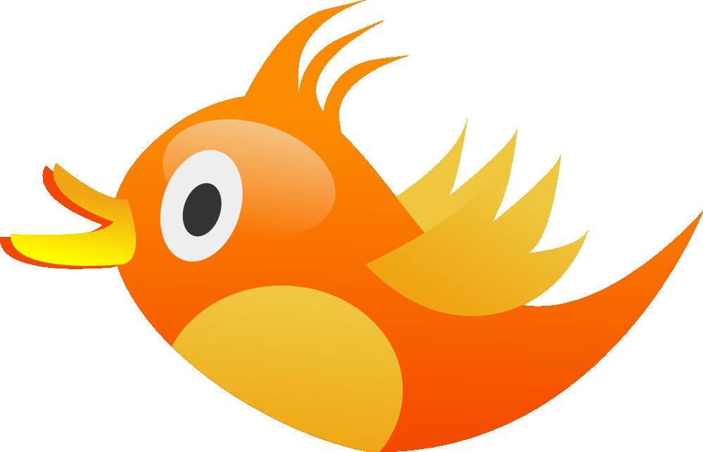 Twitter cute. Bird clipart free download