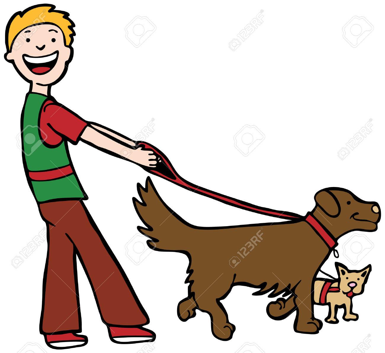 1300x1191 Pets Clipart Dog Walking