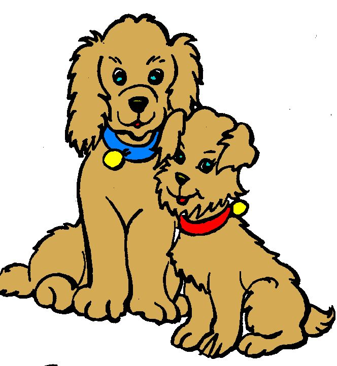 664x722 Pets Clipart Two Dog