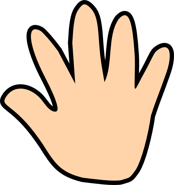 564x597 Colorful Clipart Two Hand