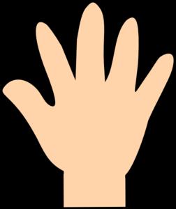 252x300 Hand Clipart