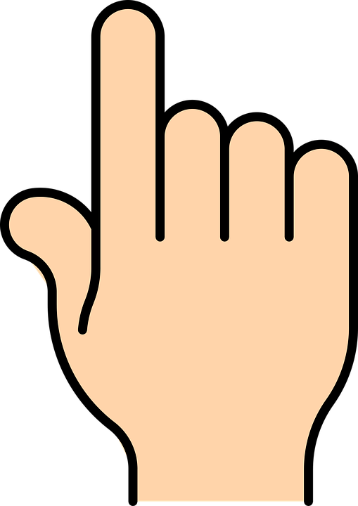 509x720 Space Clipart Two Finger