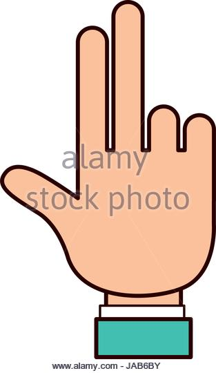 313x540 Two Fingers Silhouette Stock Photos Amp Two Fingers Silhouette Stock