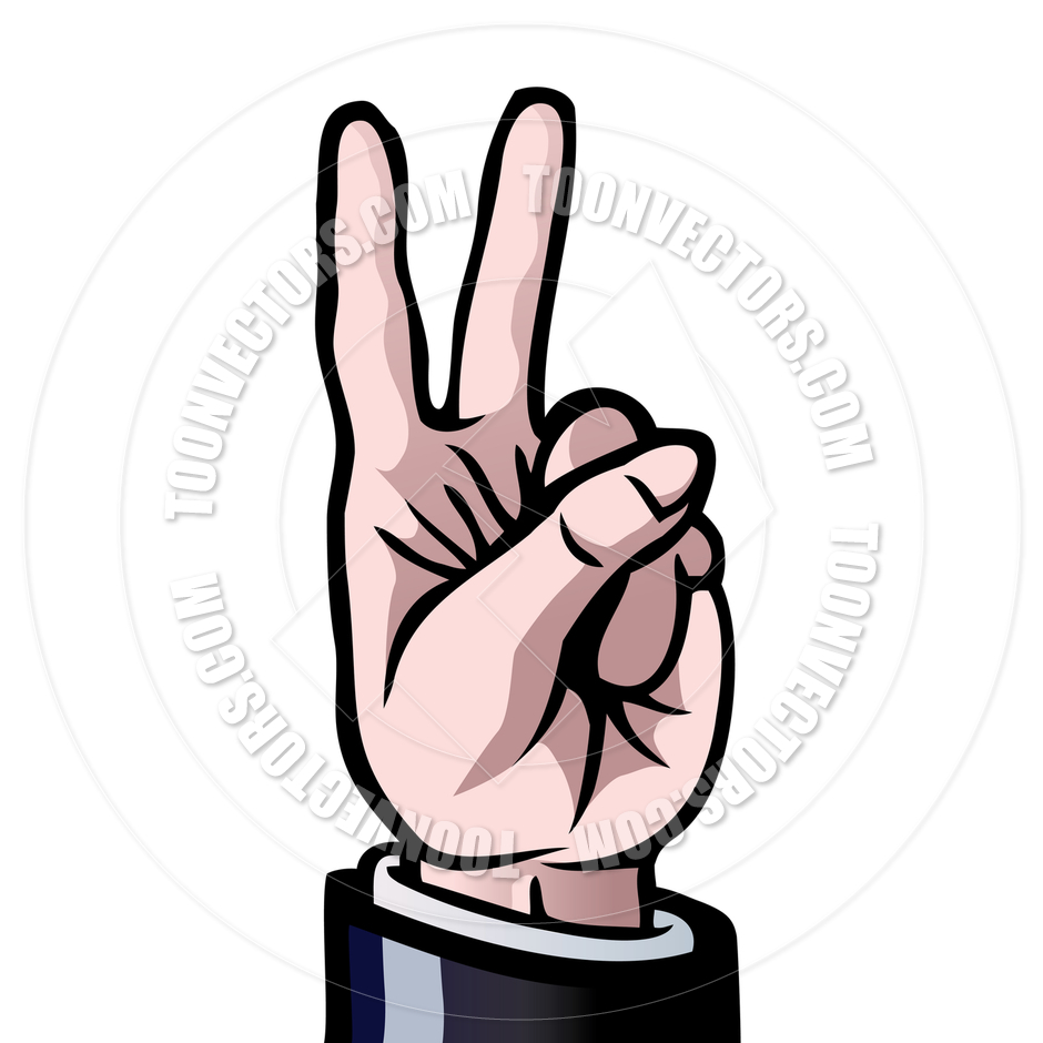 940x940 Two Fingers Up By Colin Cramm Illustration Amp Animation Toon