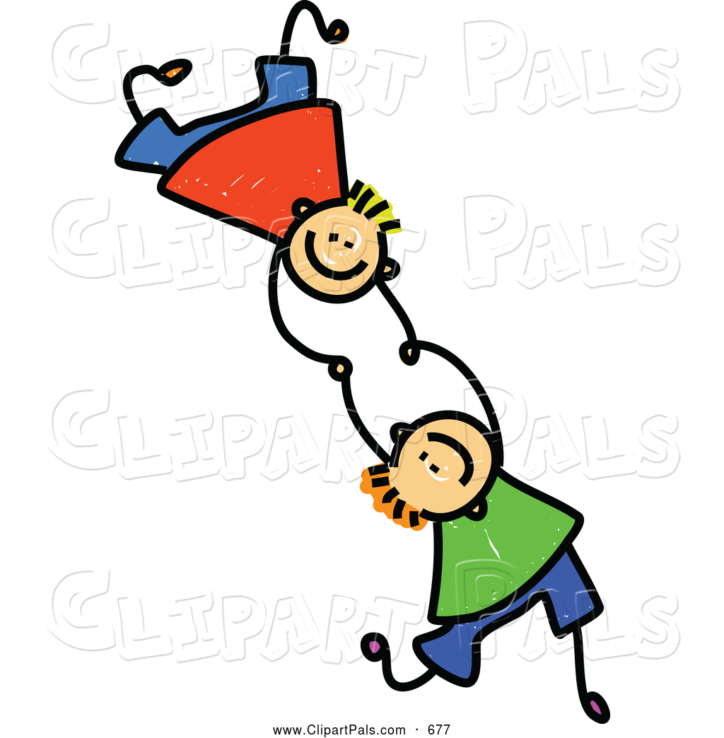 1024x1044 Two Boys Clipart