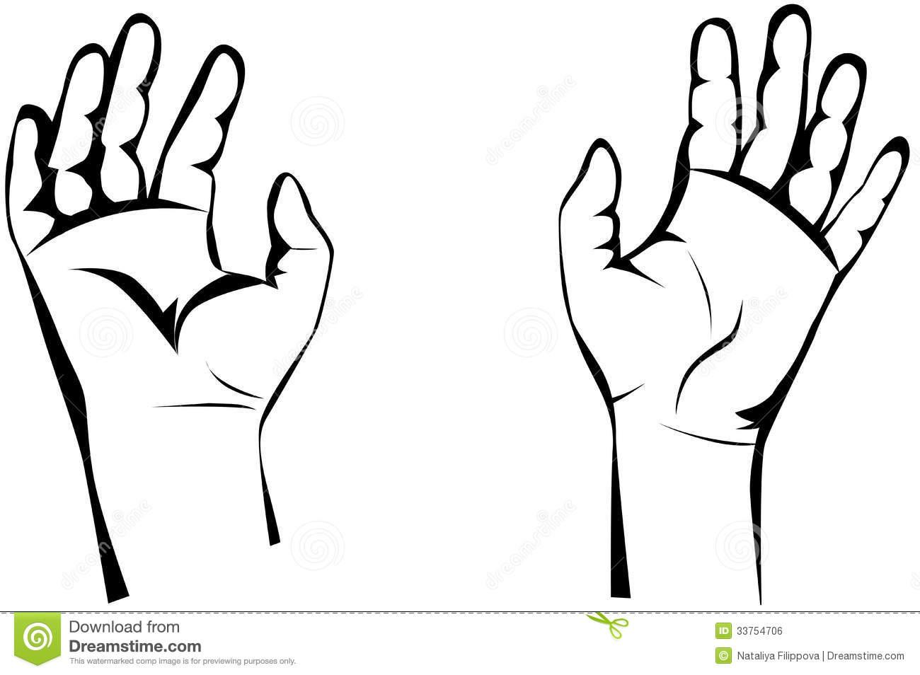 Two Hands Clipart | Free download best Two Hands Clipart on