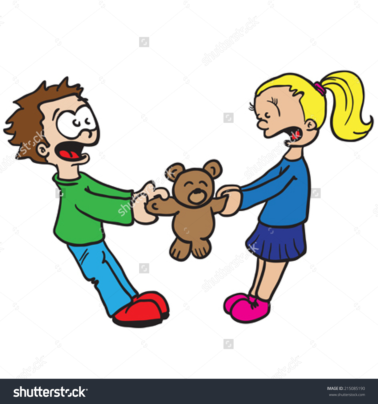 1500x1600 Clipart Of Children Arguing