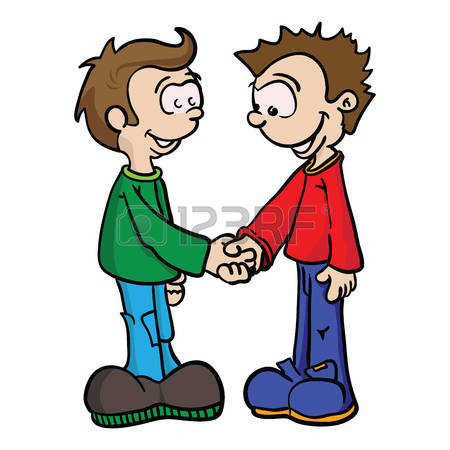 450x450 Fight Clipart Two Brother