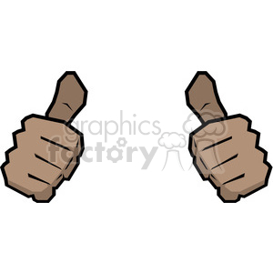 300x300 Royalty Free Two Thumbs Up This Person Image African American