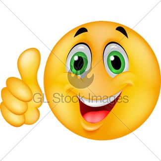 325x325 Happy Smiley Cartoon Gl Stock Images